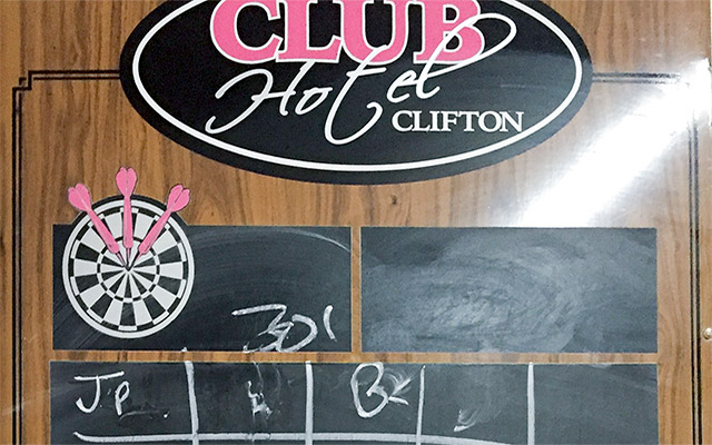 Darts at The Club, Clifton