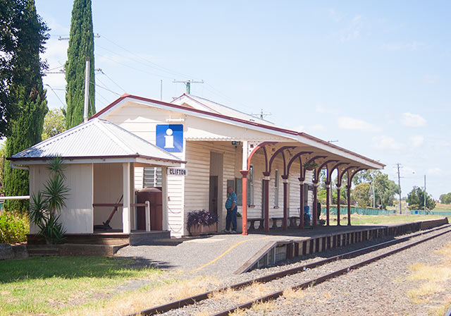 Historic Clifton Railway Station building