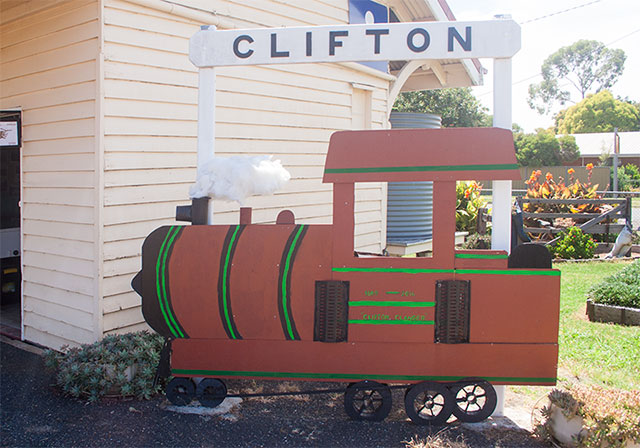 Clifton Clanger Steam Railway heritage train trips