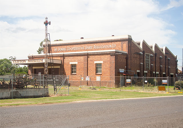 Historic Clifton Downs Co-Operative Dairy Association Ltd building